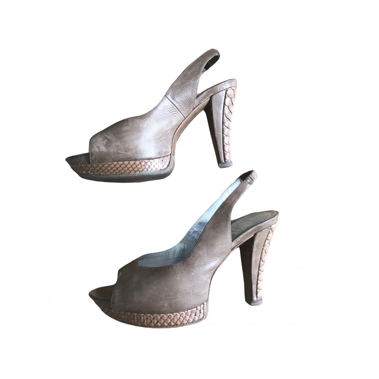 Sandalias de Cuero Free Lance