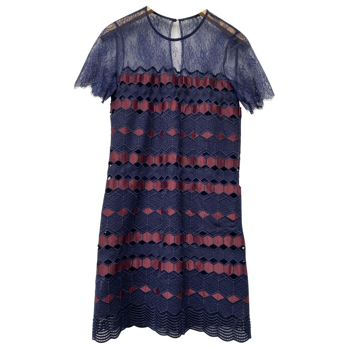 Sandro \N Burgundy Lace dress for Women S International