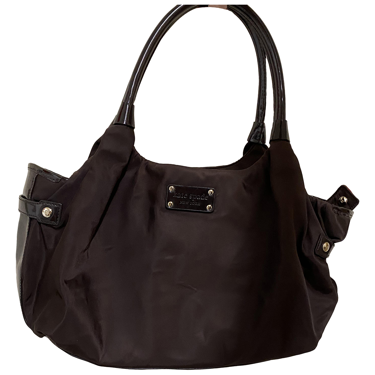 Kate Spade \N Handtasche in  Braun Synthetik