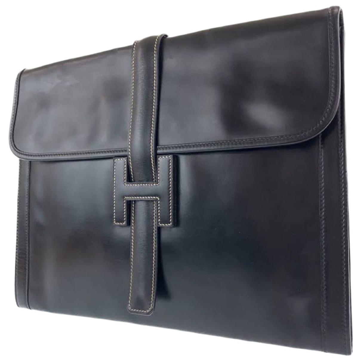 Hermes - Petite maroquinerie   pour homme en cuir