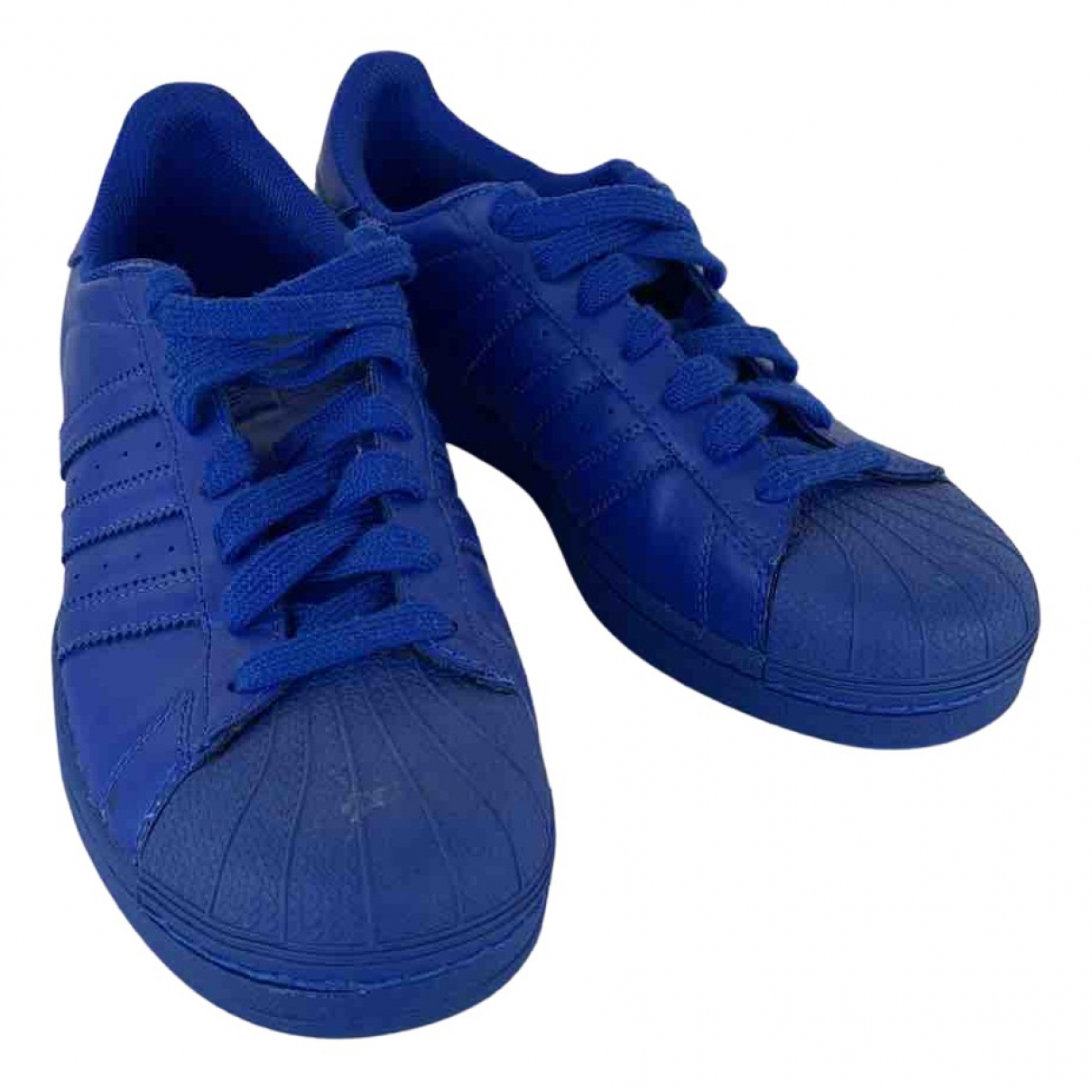 Adidas X Pharrell Williams N Blue Leather Trainers for Men 41.5 EU