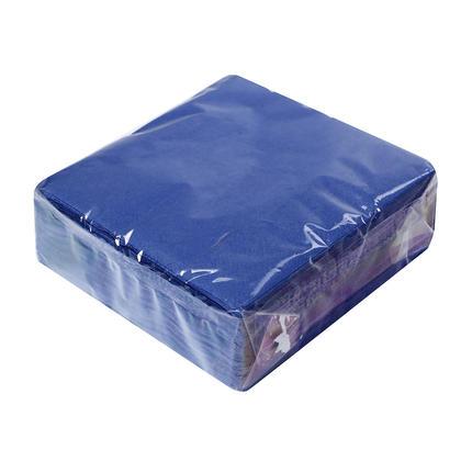 Colorful Party Paper Beverage Napkins 2ply, 25*25cm, 50Pcs - LIVINGbasics™ - Blue