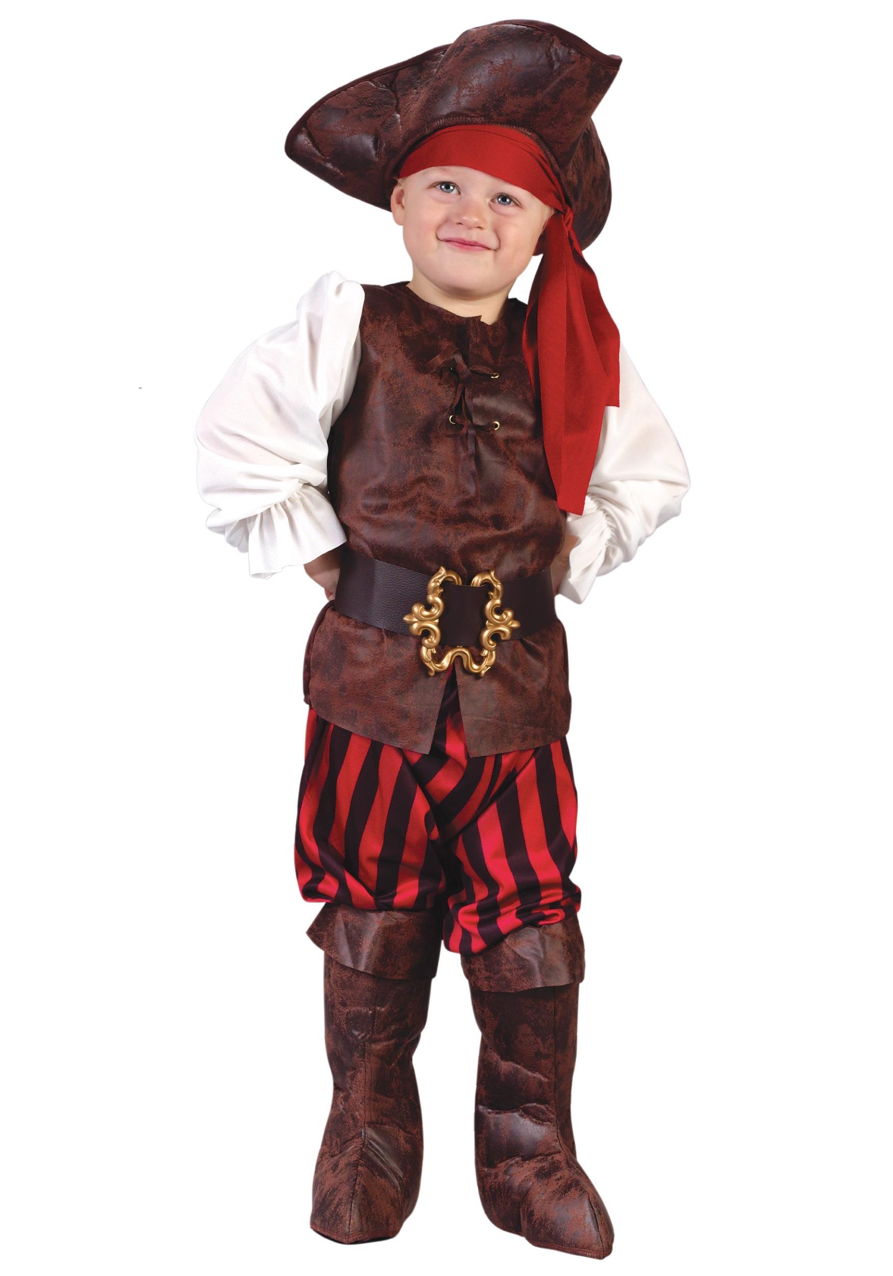 Caribbean Pirate Toddler Costume