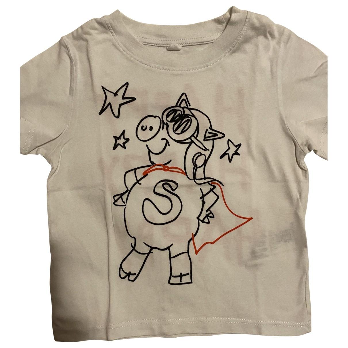 Stella Mccartney Kids - Top   pour enfant en coton - blanc