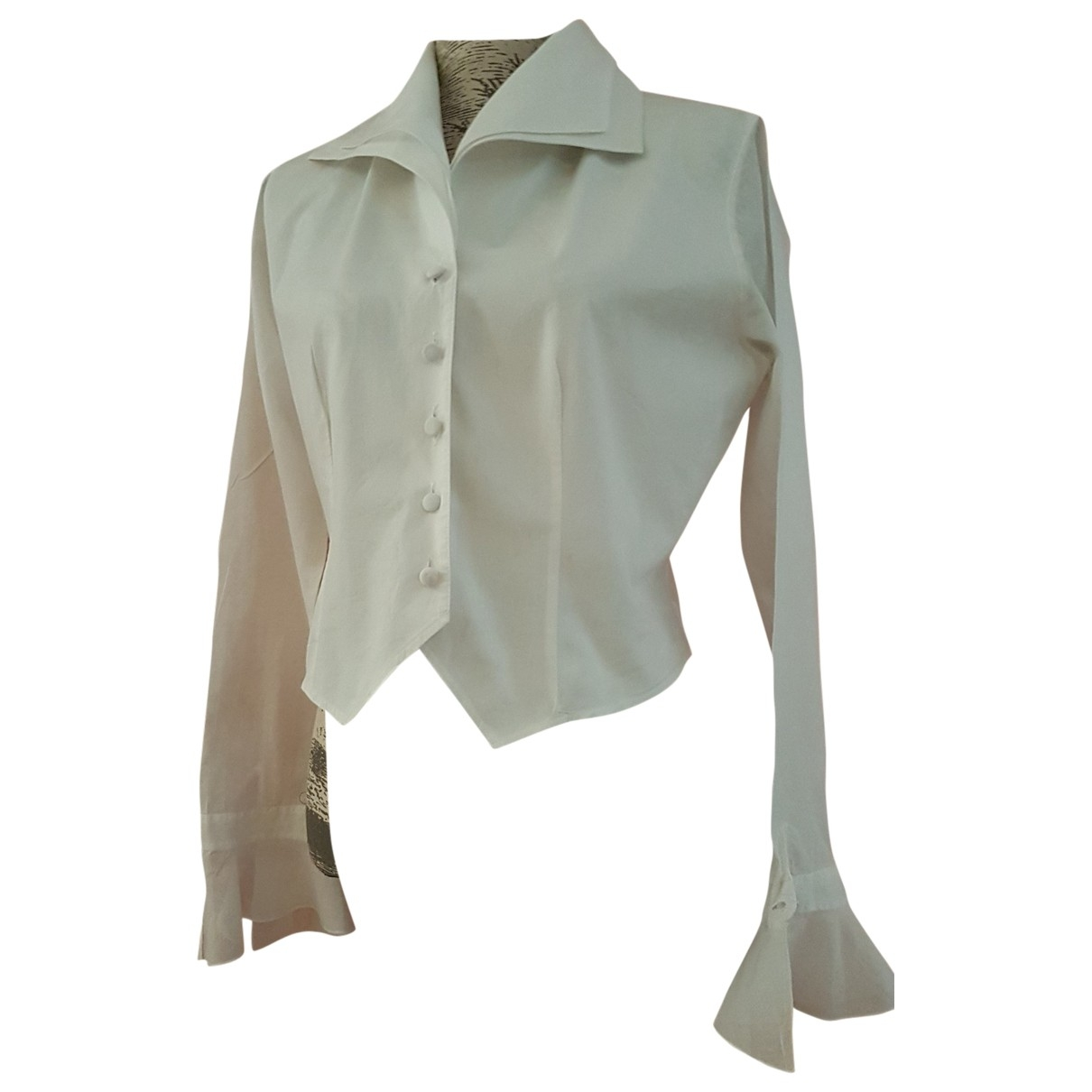 Anne Fontaine \N White Cotton  top for Women 40 FR