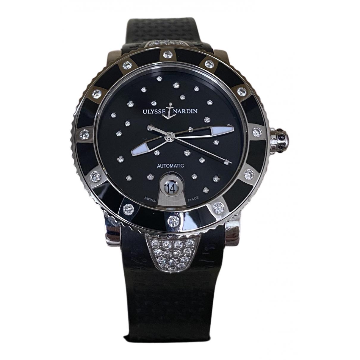 Ulysse Nardin N Black Steel watch for Women N