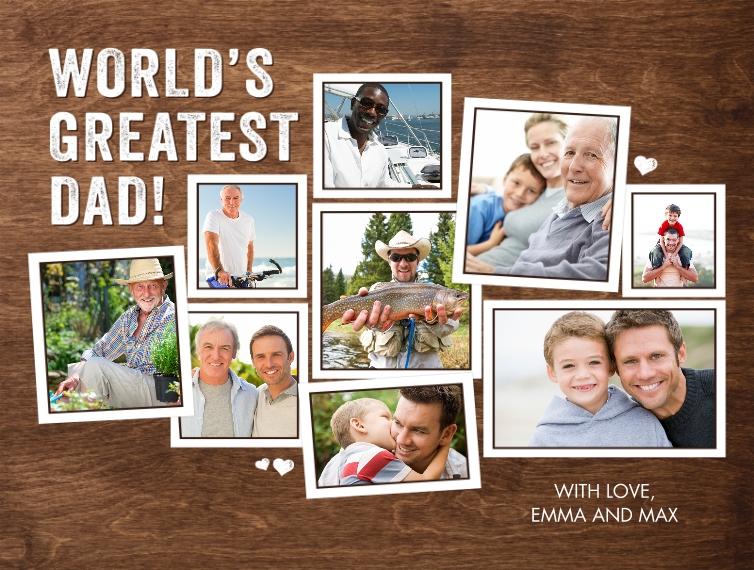 Family + Friends Fleece Blanket, 60x80, Gift -Blanket Greatest Dad by Tumbalina