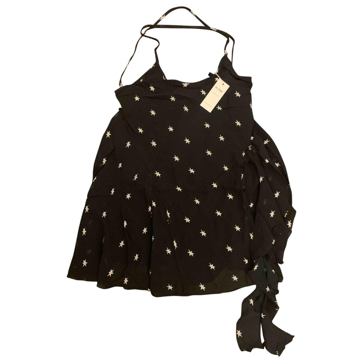 Mini vestido de Seda Re/done