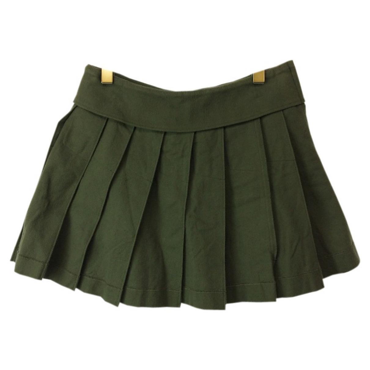 Comme Des Garcons - Jupe   pour femme en coton - kaki