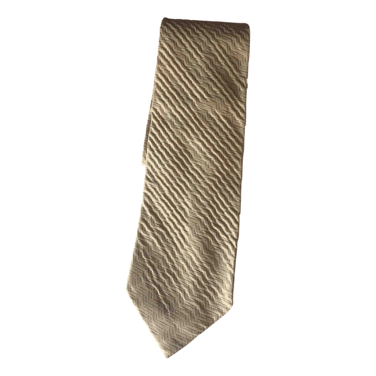 Dolce & Gabbana - Cravates   pour homme en soie - beige