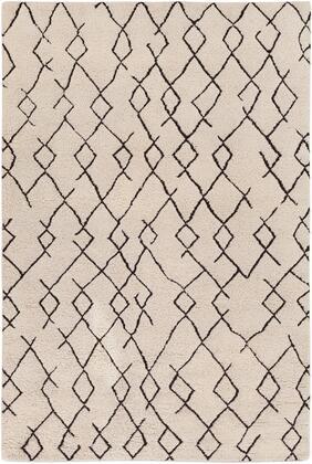 Javier JAV-1001 8' x 10' Rectangle Global Rug in Ivory