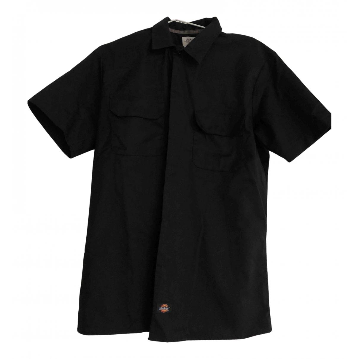 Dickies - Chemises   pour homme en coton - noir