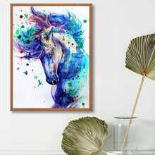 Horse Pattern Diamond Painting