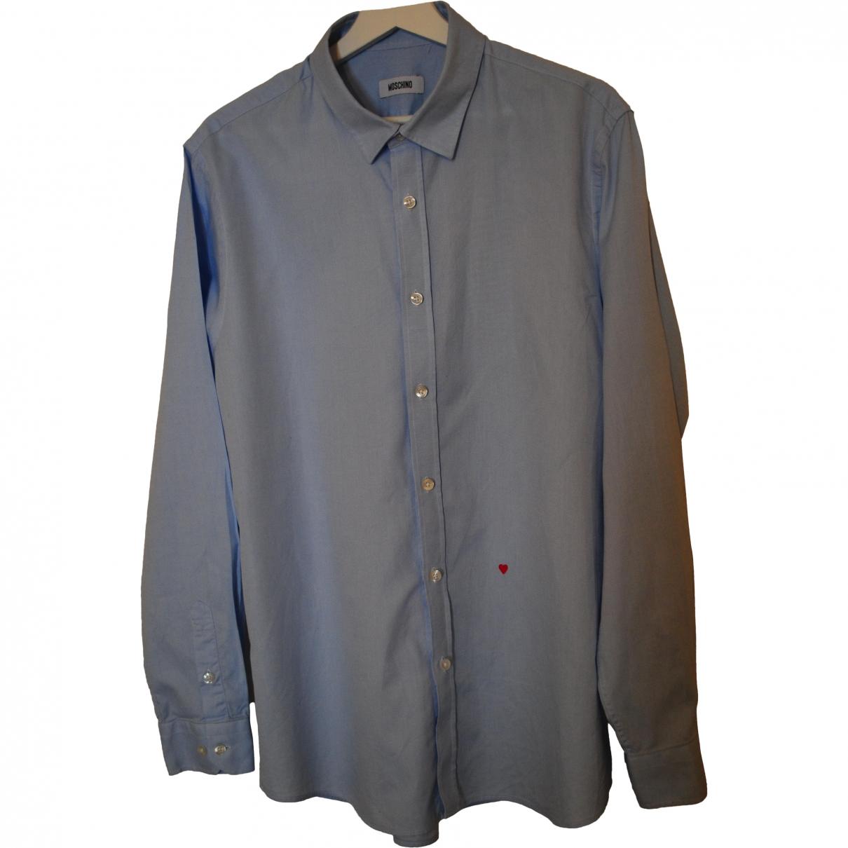 Moschino \N Hemden in  Blau Baumwolle