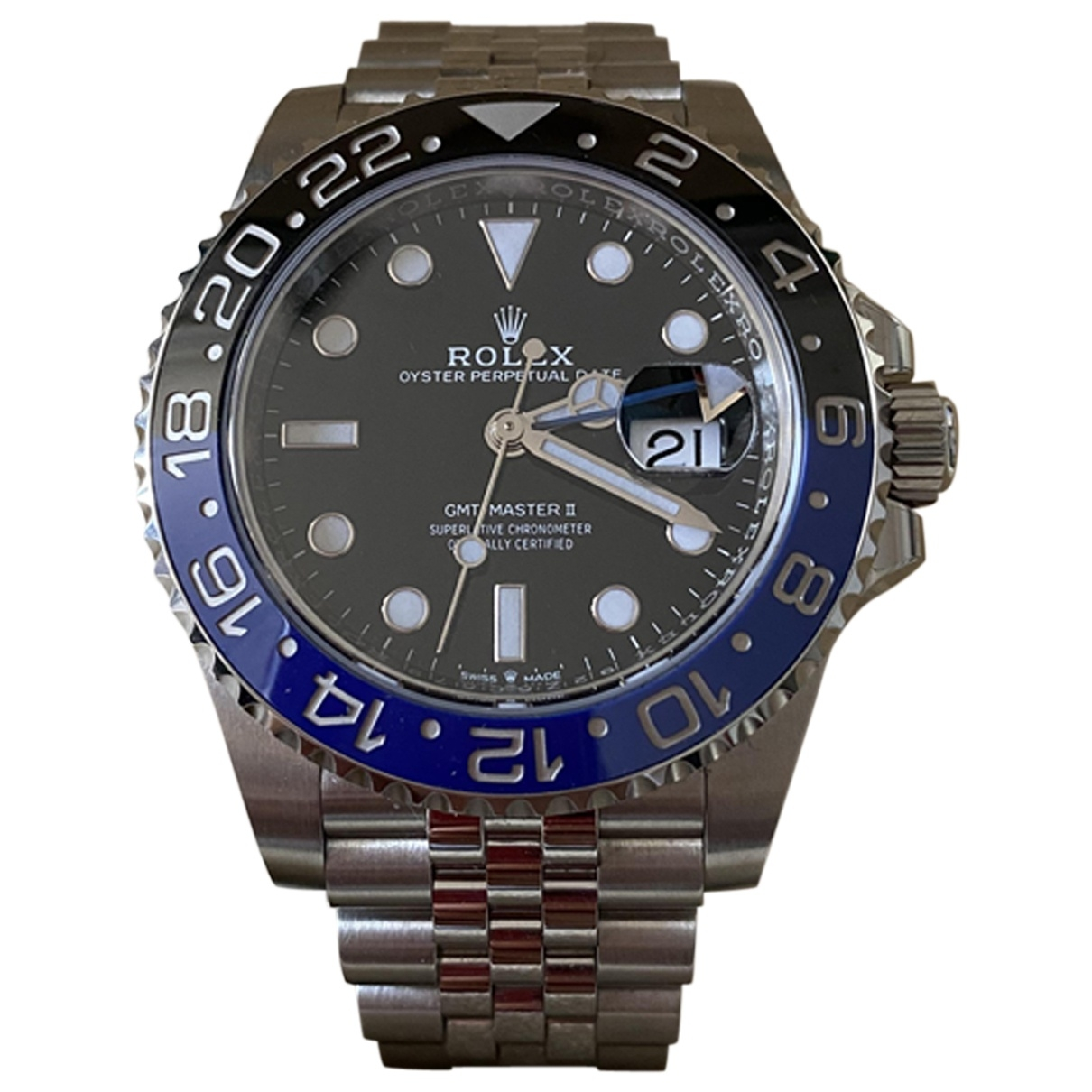 Rolex GMT-Master II Steel watch for Men \N