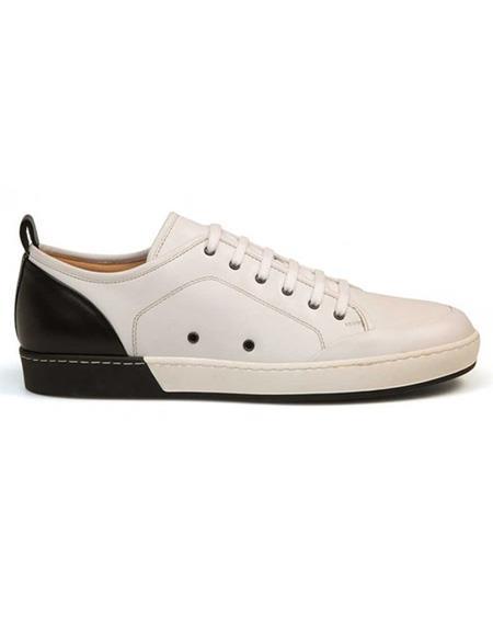 Mens Calf ~ Leather Black Lace Up Shoe
