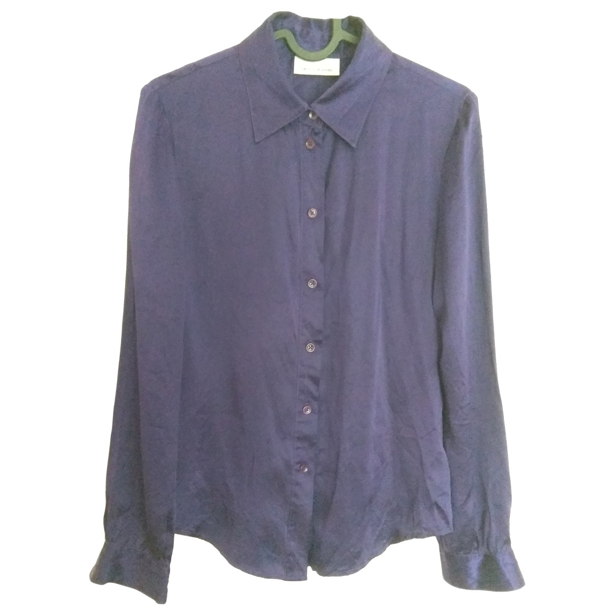 Dkny \N Purple Silk  top for Women S International