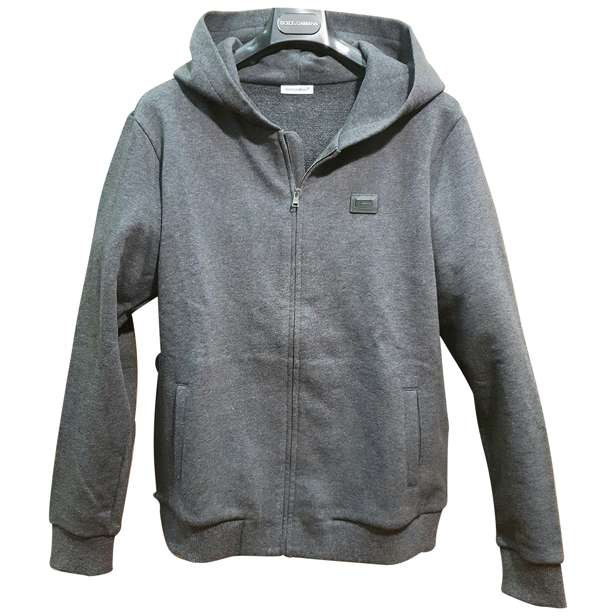 Dolce & Gabbana \N Anthracite Cotton Knitwear for Kids 12 years - XS FR