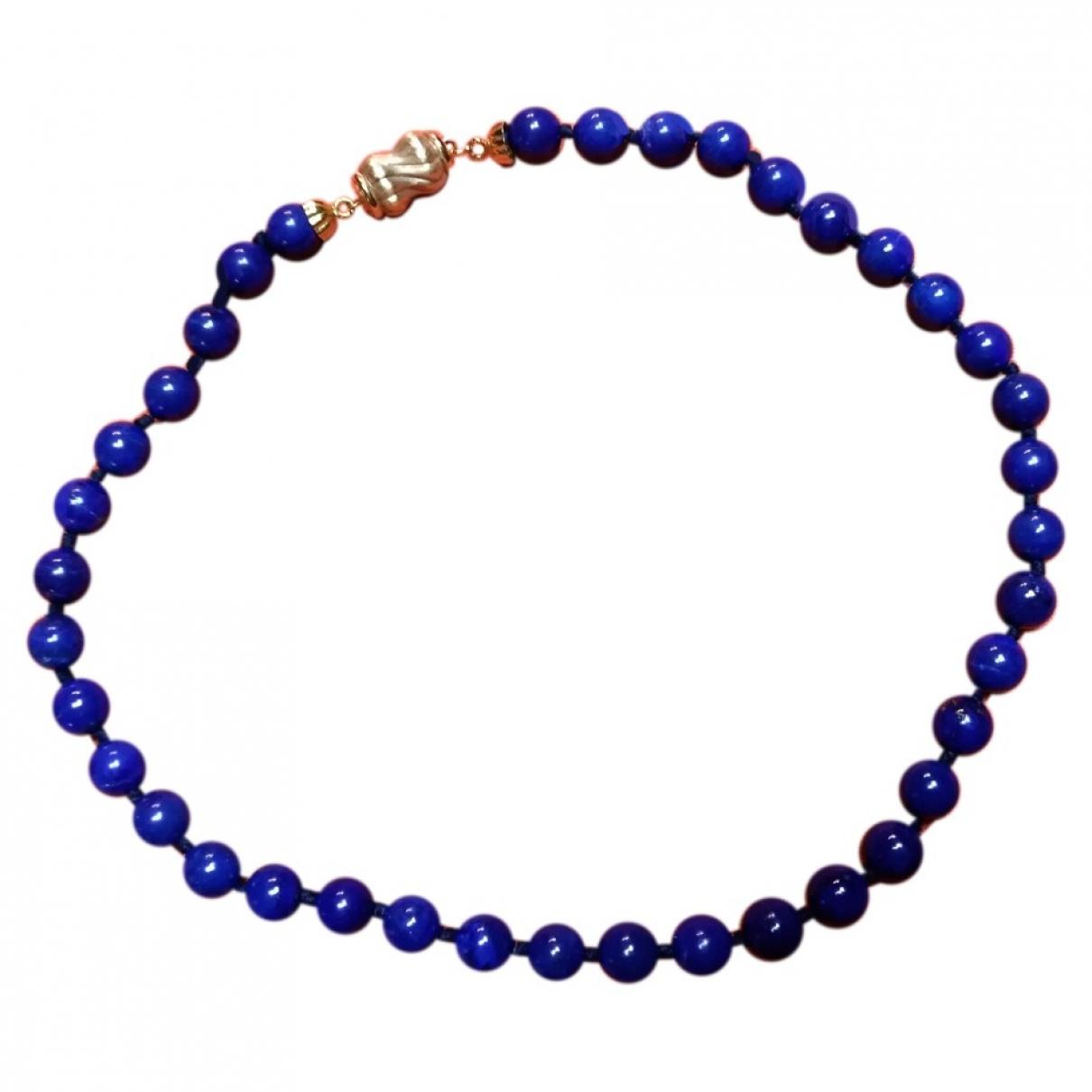 Collar Lapis lazuli de Perlas Non Signe / Unsigned