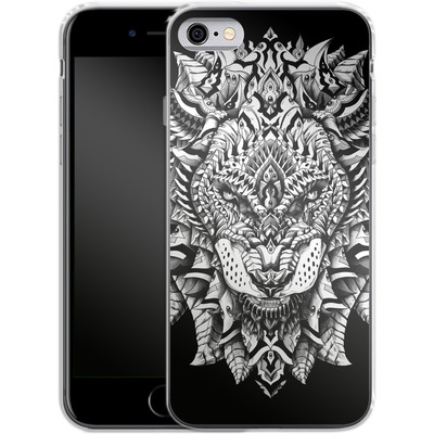 Apple iPhone 6 Silikon Handyhuelle - Ornate Lion von BIOWORKZ