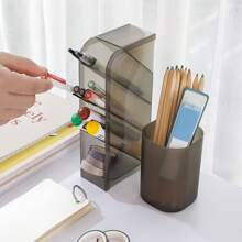 1pc Clear Pen Holder