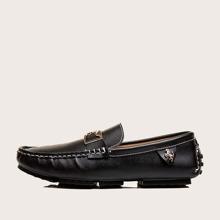 Maenner Loafers mit metallischem Dekor
