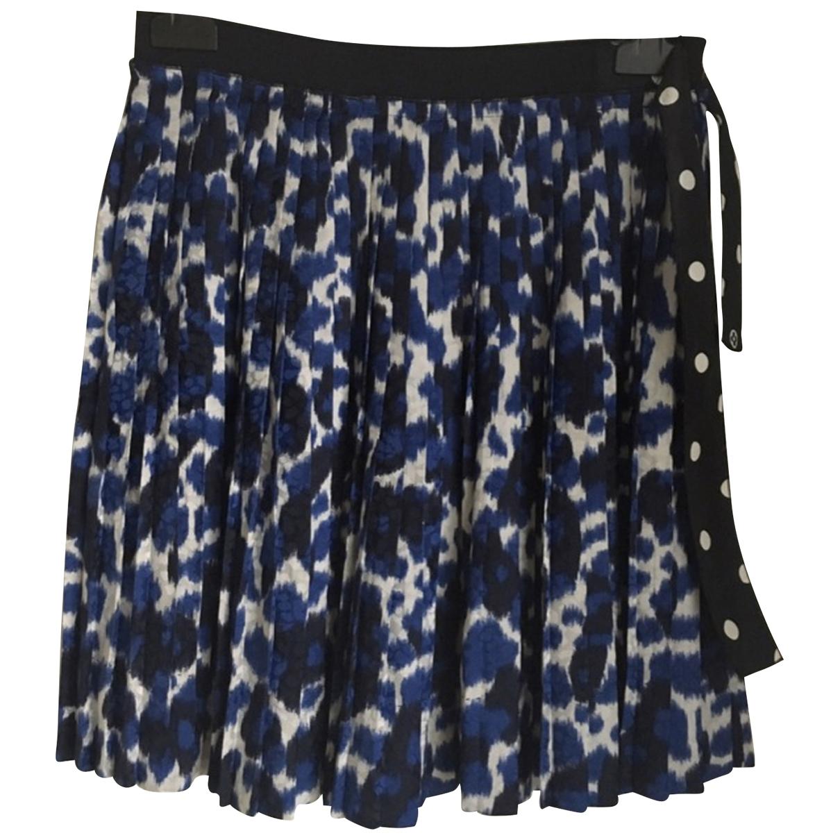 Mini falda de Seda Louis Vuitton