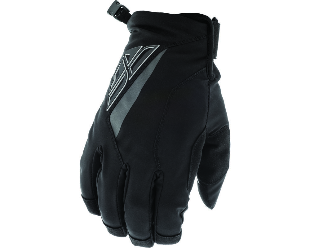 Fly Racing 371-04010 Title Gloves Black