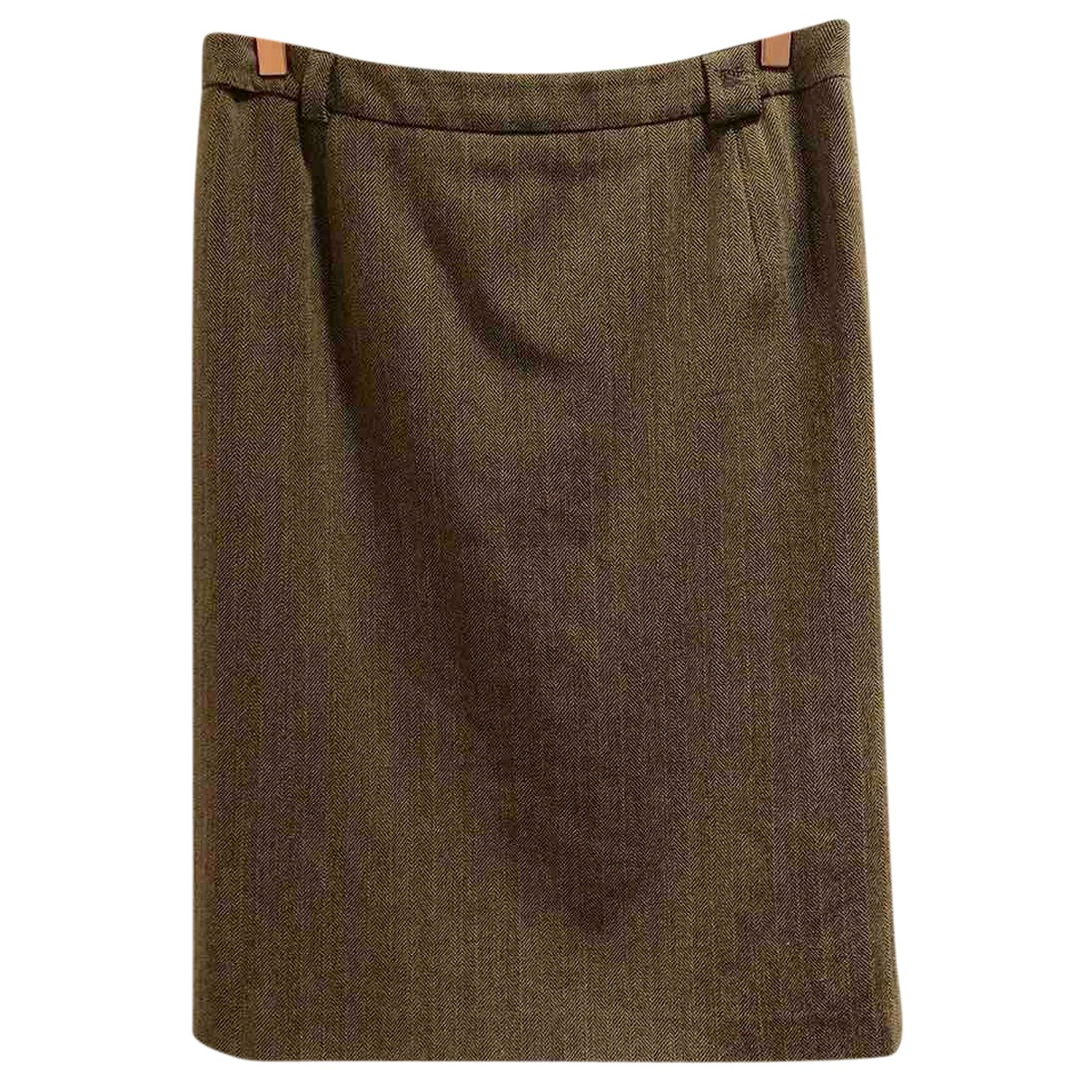 Burberry \N Rocke in  Braun Wolle