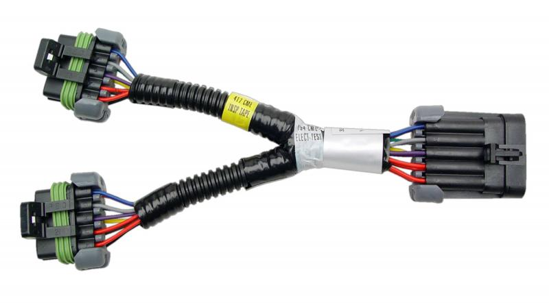 FAST XFI Fuel Injector Y Adapter Harness for Multiple Injectors