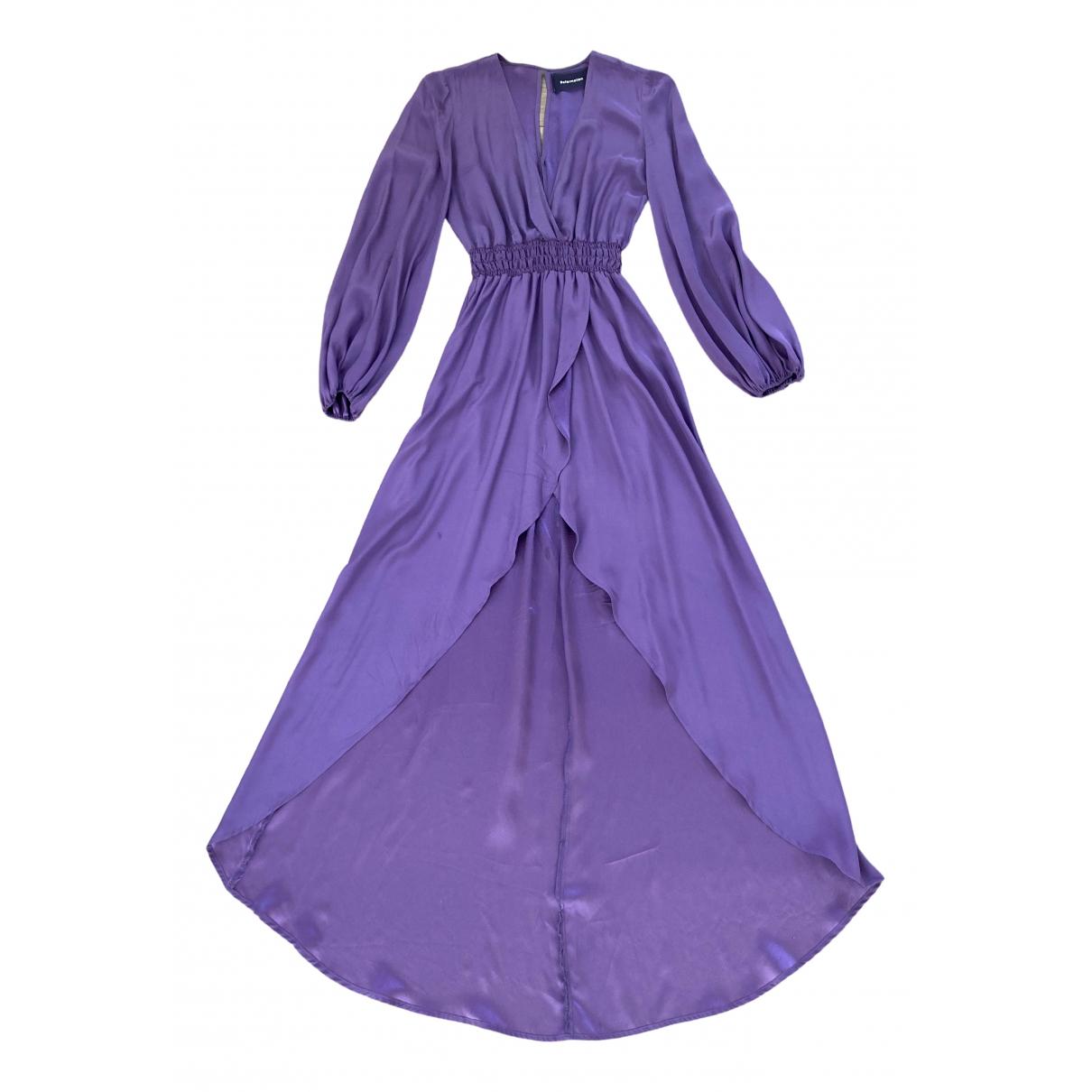 Reformation \N Purple dress for Women S International