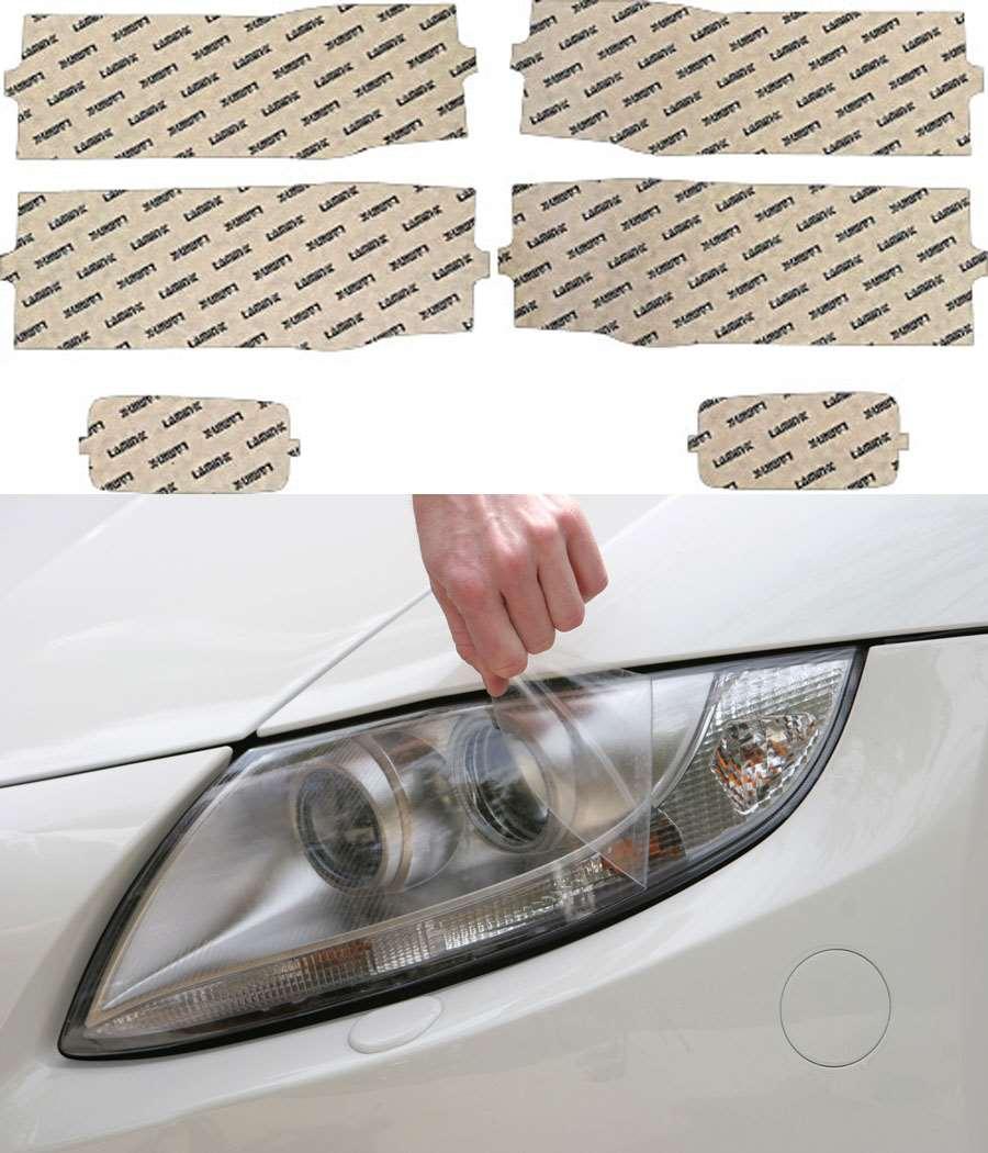 Chevrolet Silverado 1500 14-15 Clear Headlight Covers Lamin-X CH035CL