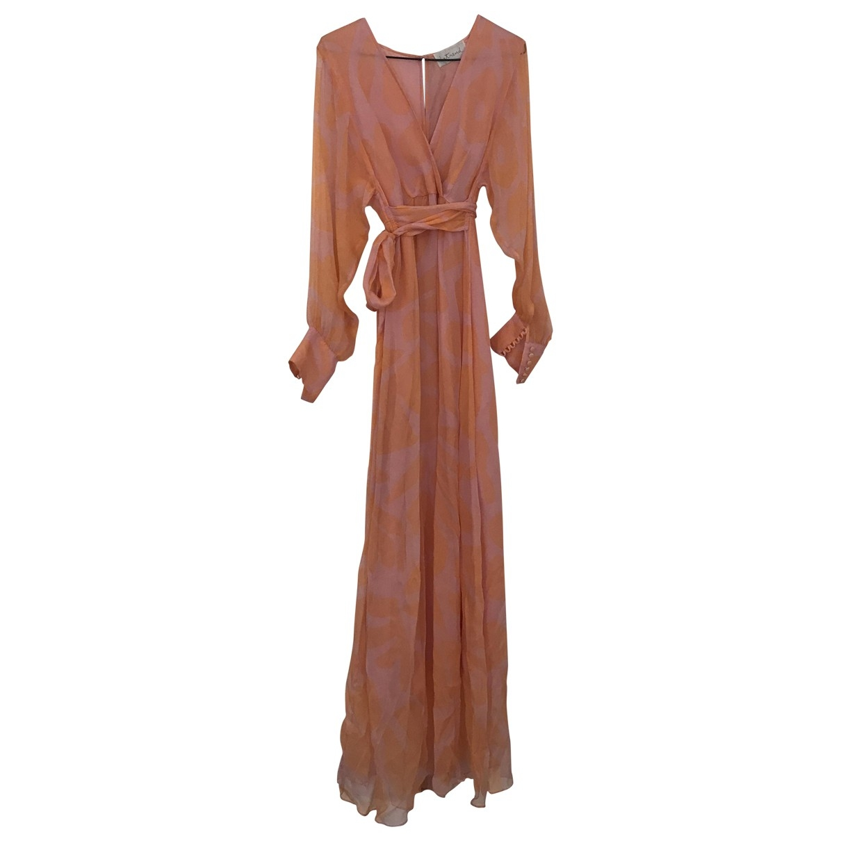 Max & Co \N Pink Silk dress for Women 40 IT
