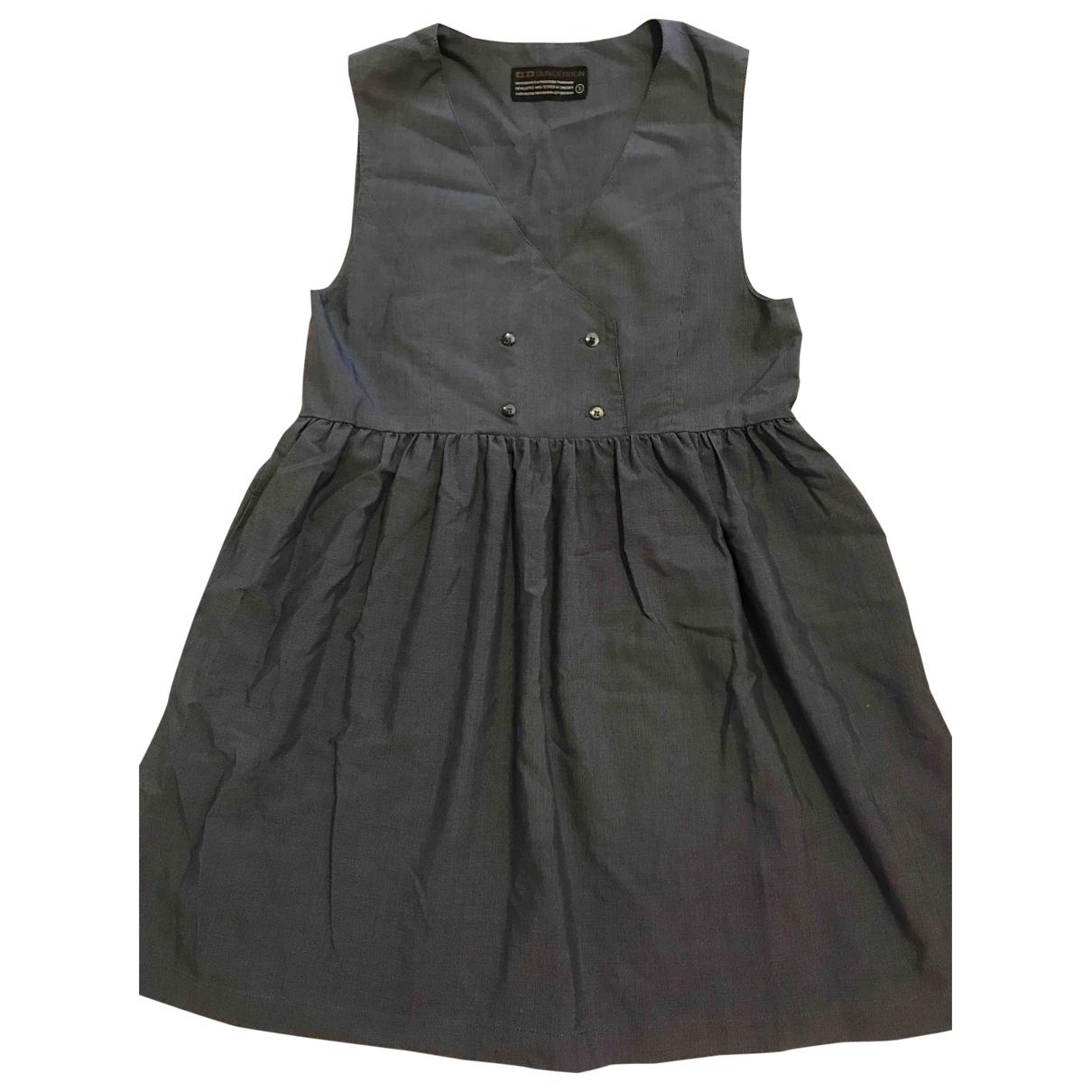 Dunderdon \N Blue Cotton dress for Women S International