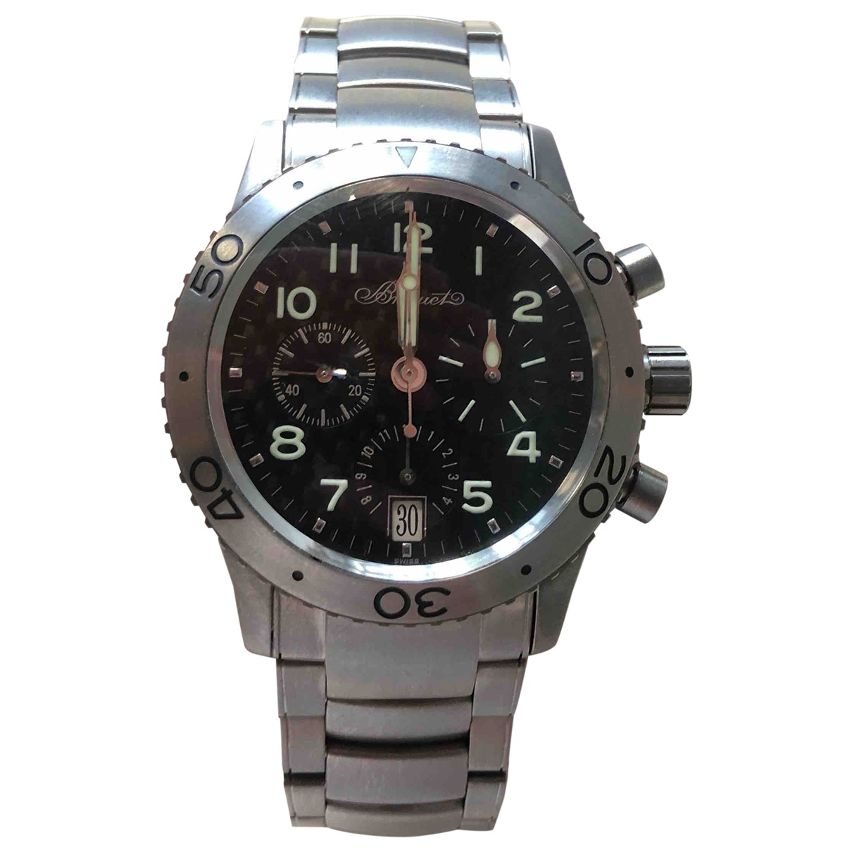 Breguet Type XX Grey Titanium watch for Men \N
