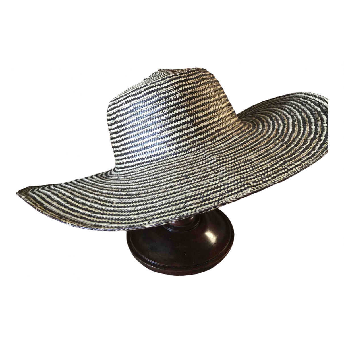 - Chapeau   pour femme en paille - multicolore