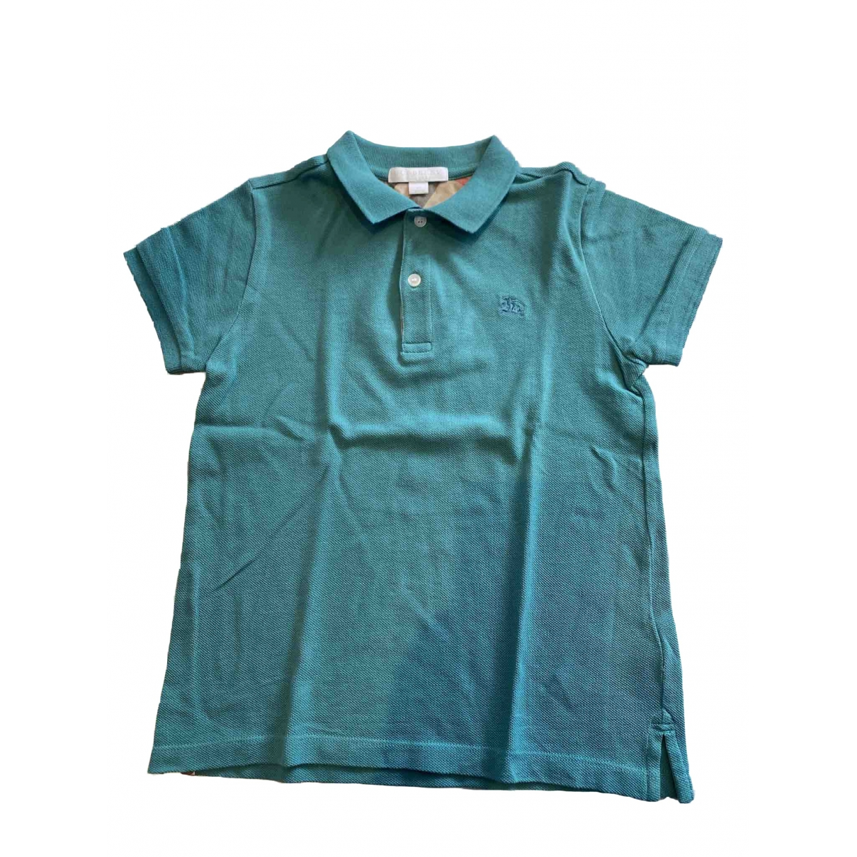Burberry \N Green Cotton  top for Kids 8 years - up to 128cm FR