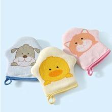1 pieza guante de baño exfoliante de dibujos animados al azar para niños