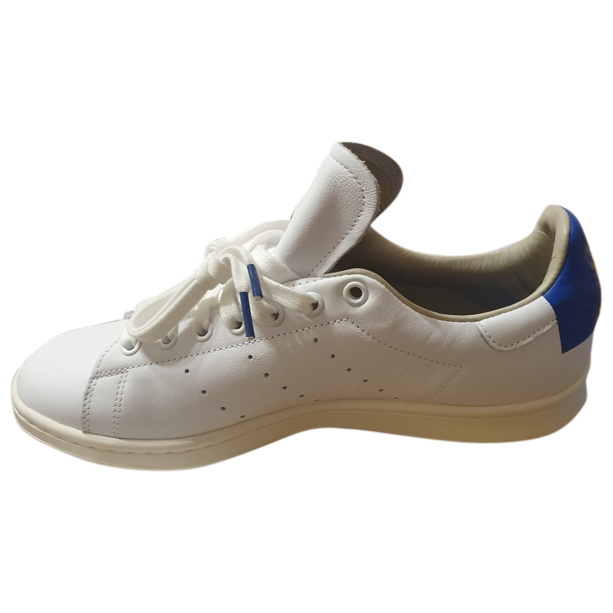 Adidas Stan Smith Sneakers in  Weiss Leder