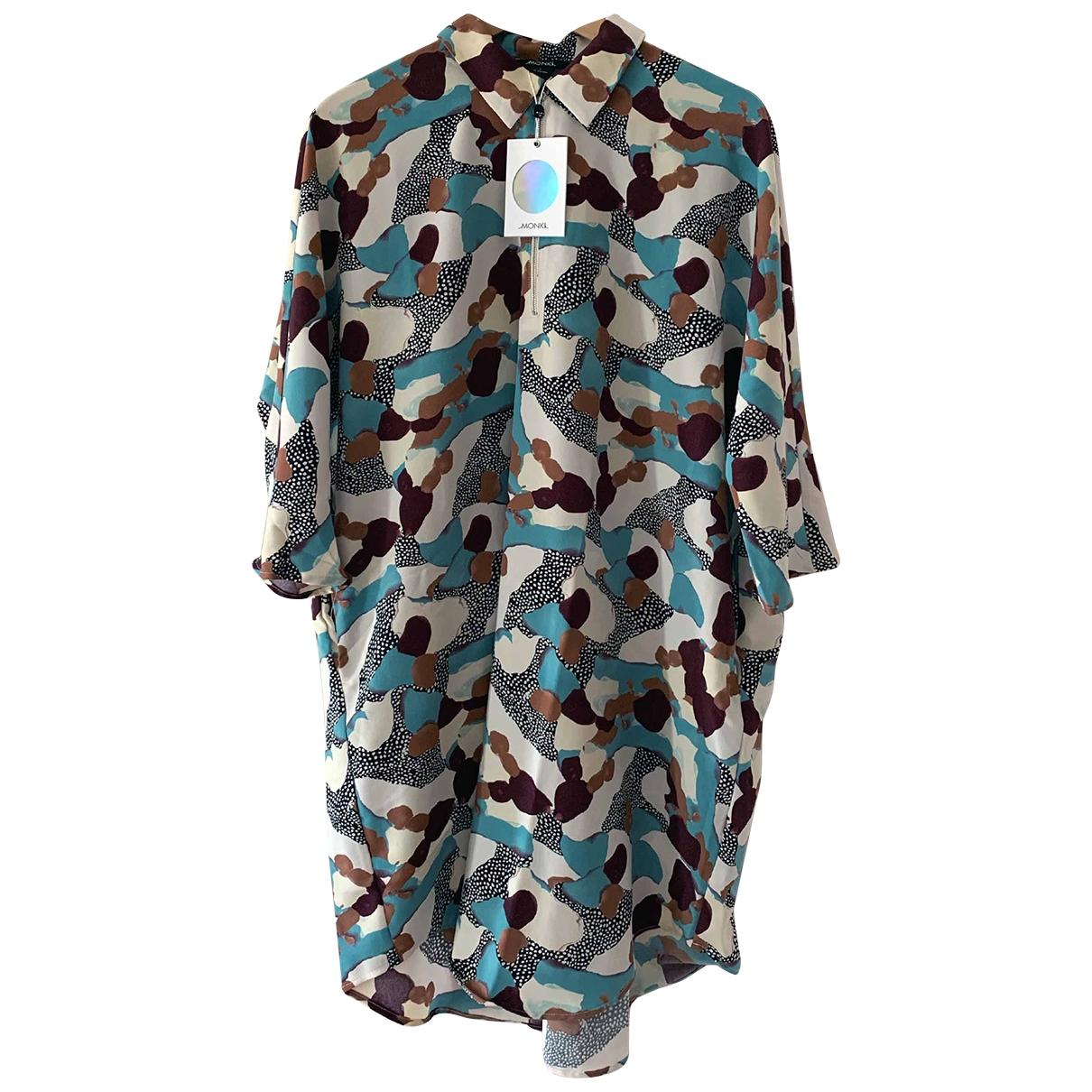 Monki \N Kleid in  Bunt Baumwolle
