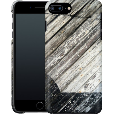 Apple iPhone 7 Plus Smartphone Huelle - Diagonal Wood von Brent Williams
