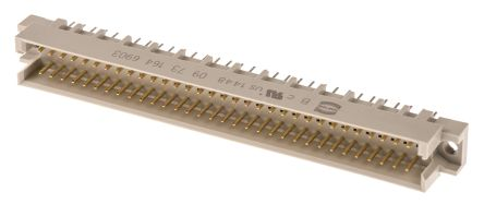 HARTING 64 Way 2.54mm Pitch, Type R Class C2, 2 Row, Straight DIN 41612 Connector, Plug