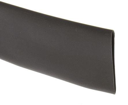 HellermannTyton Heat Shrink Tubing, Black 24mm Sleeve Dia. x 3m Length 3:1 Ratio, HIS-3 Series