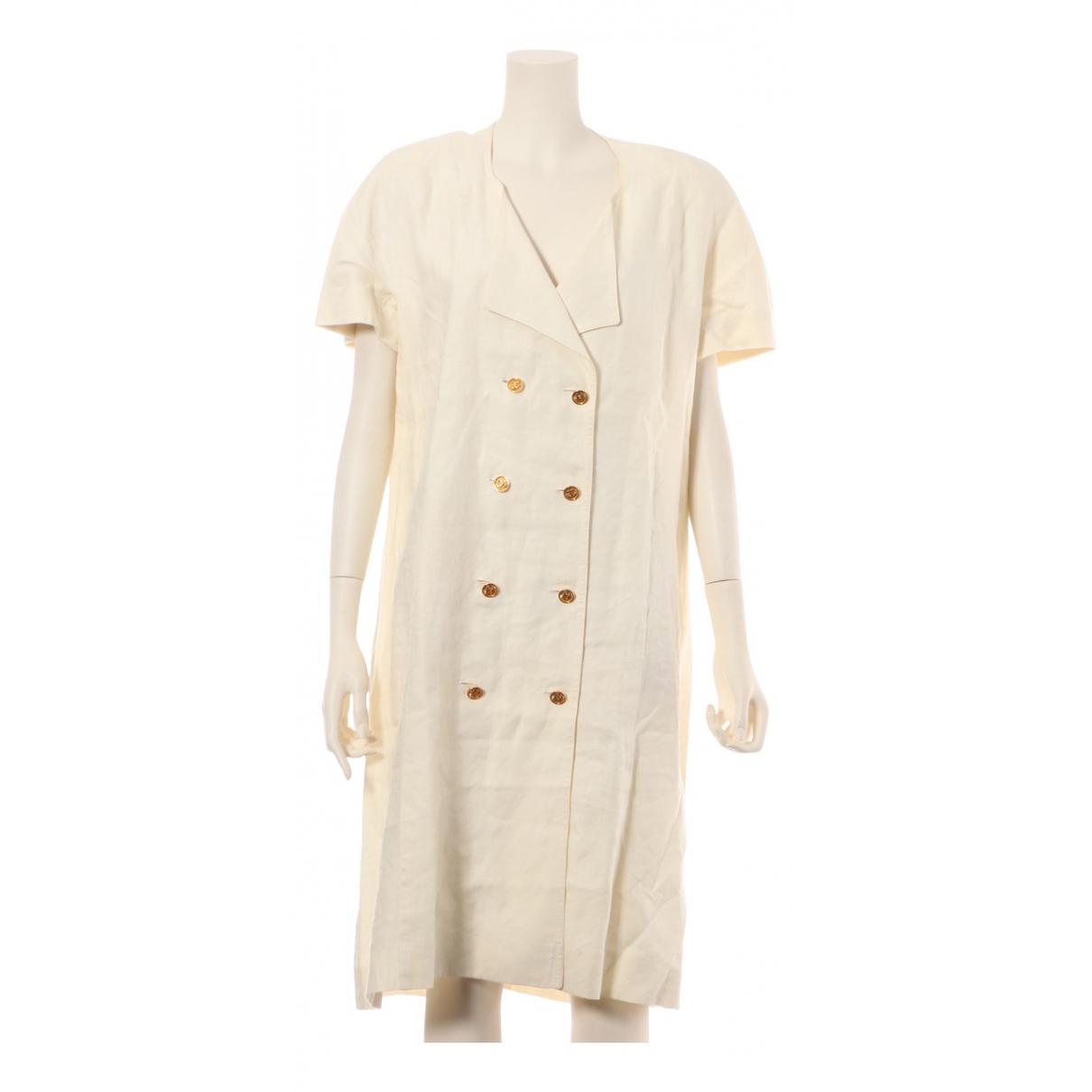 Vestido midi de Lino Chanel