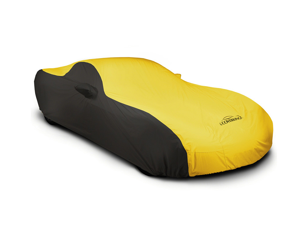 Coverking CVC3SP293MD9433 CVC3SP293 Stormproof 2-Tone Black Sides Yellow Center Custom Car Cover Mercedes-Benz SL63 AMG | SL65 AMG 17-19