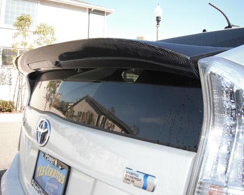 Advan Carbon BKTP10-AC839RWC Design JDM Carbon Fiber Ducktail Wing Toyota Prius 2010+
