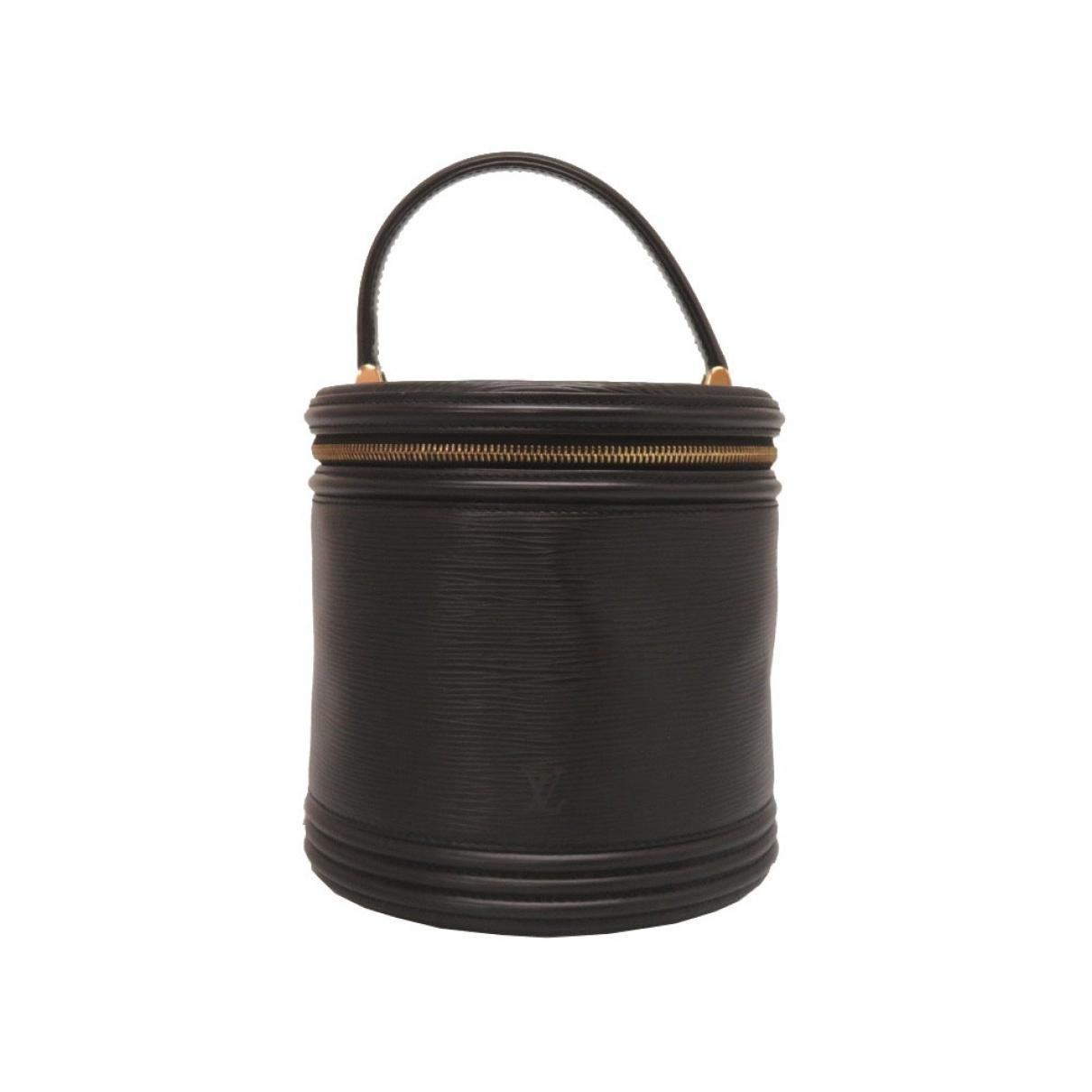 Louis Vuitton Cannes Handtasche in  Schwarz Leder