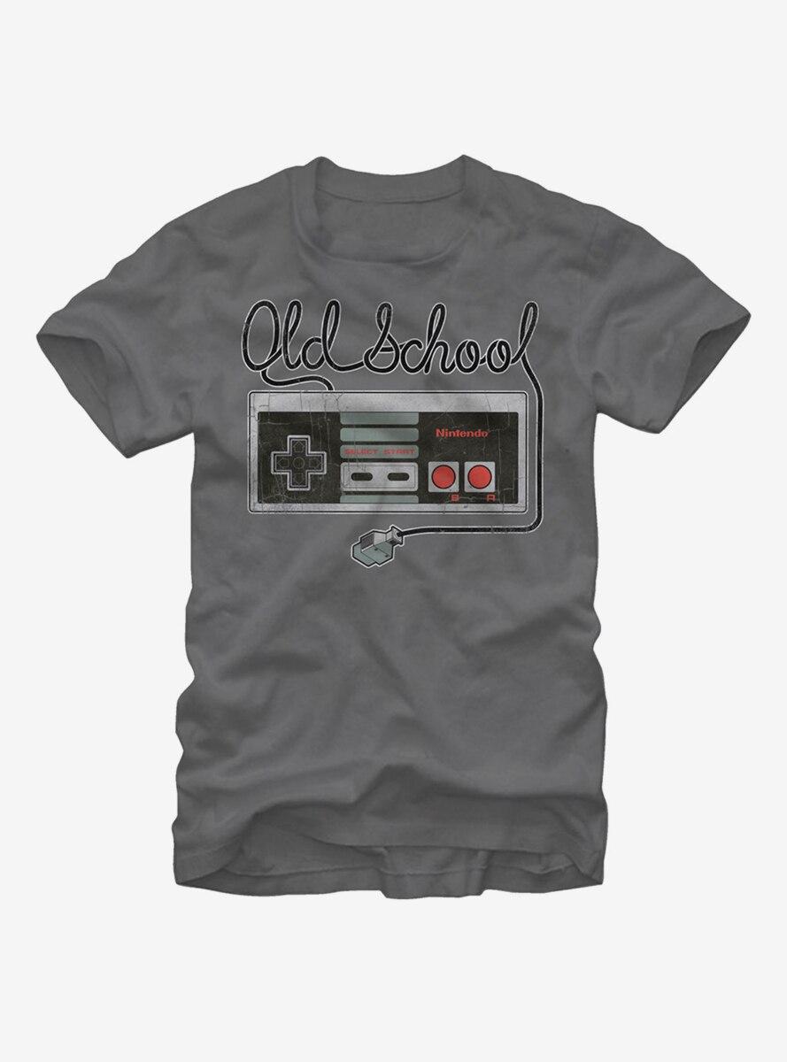 Nintendo Old Schoool NES Controller T-Shirt
