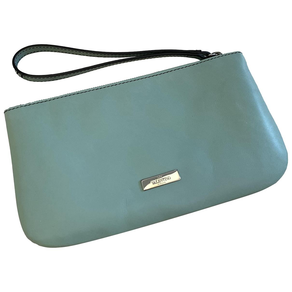 Valentino Garavani \N Leather Clutch bag for Women \N