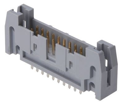 ASSMANN WSW , AWH, 16 Way, 2 Row, Straight PCB Header (5)